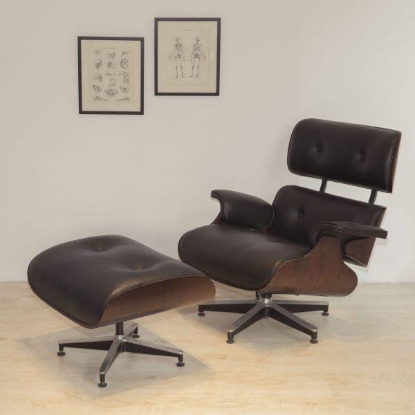 Sillón Lounge Eames & ottoman