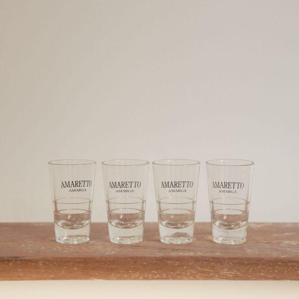 Vasos de aperitivo 'Amaretto Amarga'